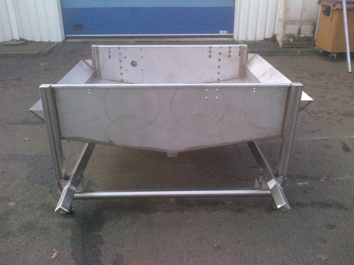 BAC AVEC CHASSIS EP 5 MM TECHNI BISCUIT