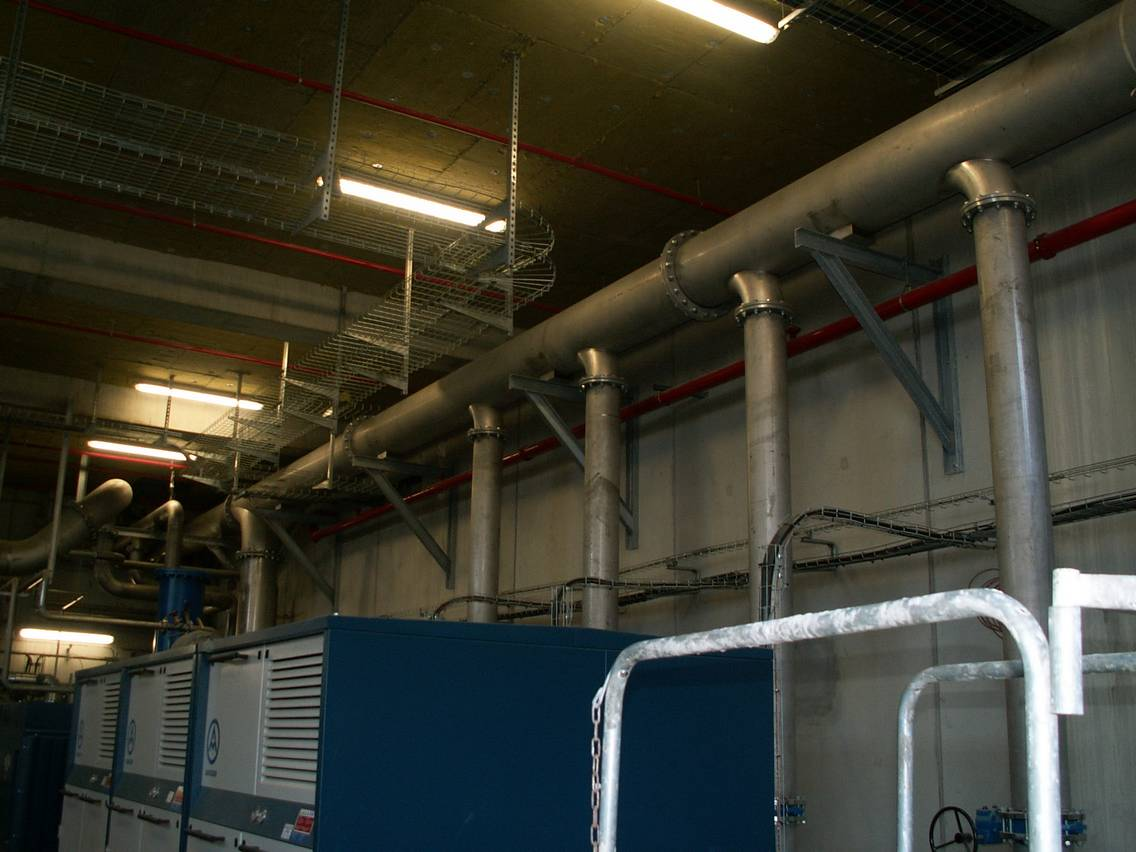 CANALISATION D'AIR BASSE PRESSION SUR MESURE VOLUMETAL 49 LE PUY SAINT BONNET