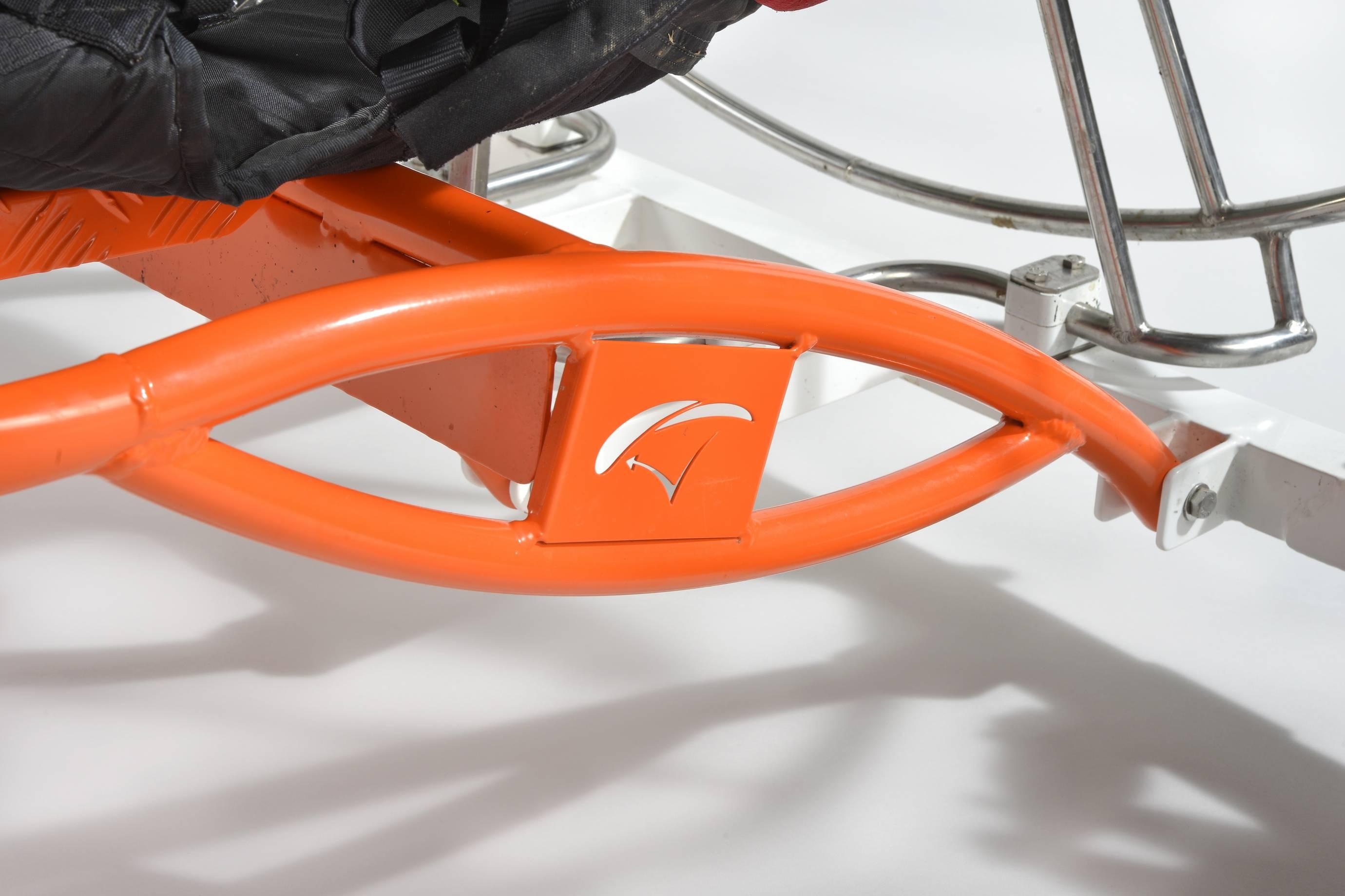 Chariot en aluminium pour paramoteur a helice