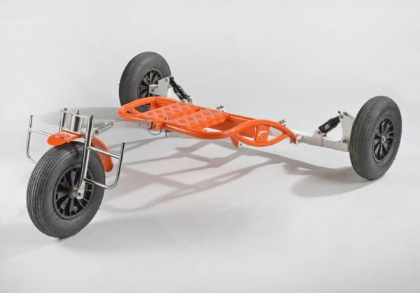 Volumetal Chariot pour paramoteur chassis vide