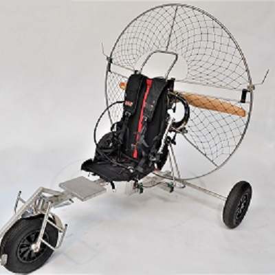 Paramoteur chassis en alu par Volumetal creation V2