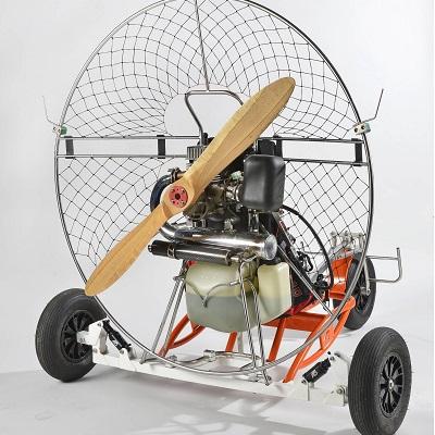 Paramoteur chassis en alu par Volumetal creation dos