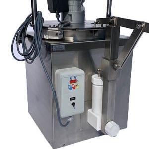 Fondoir à fromage, machine en inox conçue, créée et fabriquée par Volumetal