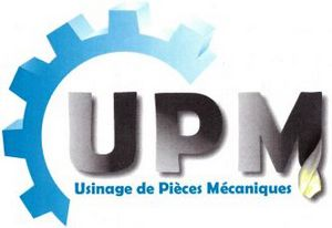 logo de l'entreprise UPM Usinage de Pièces Mécaniques